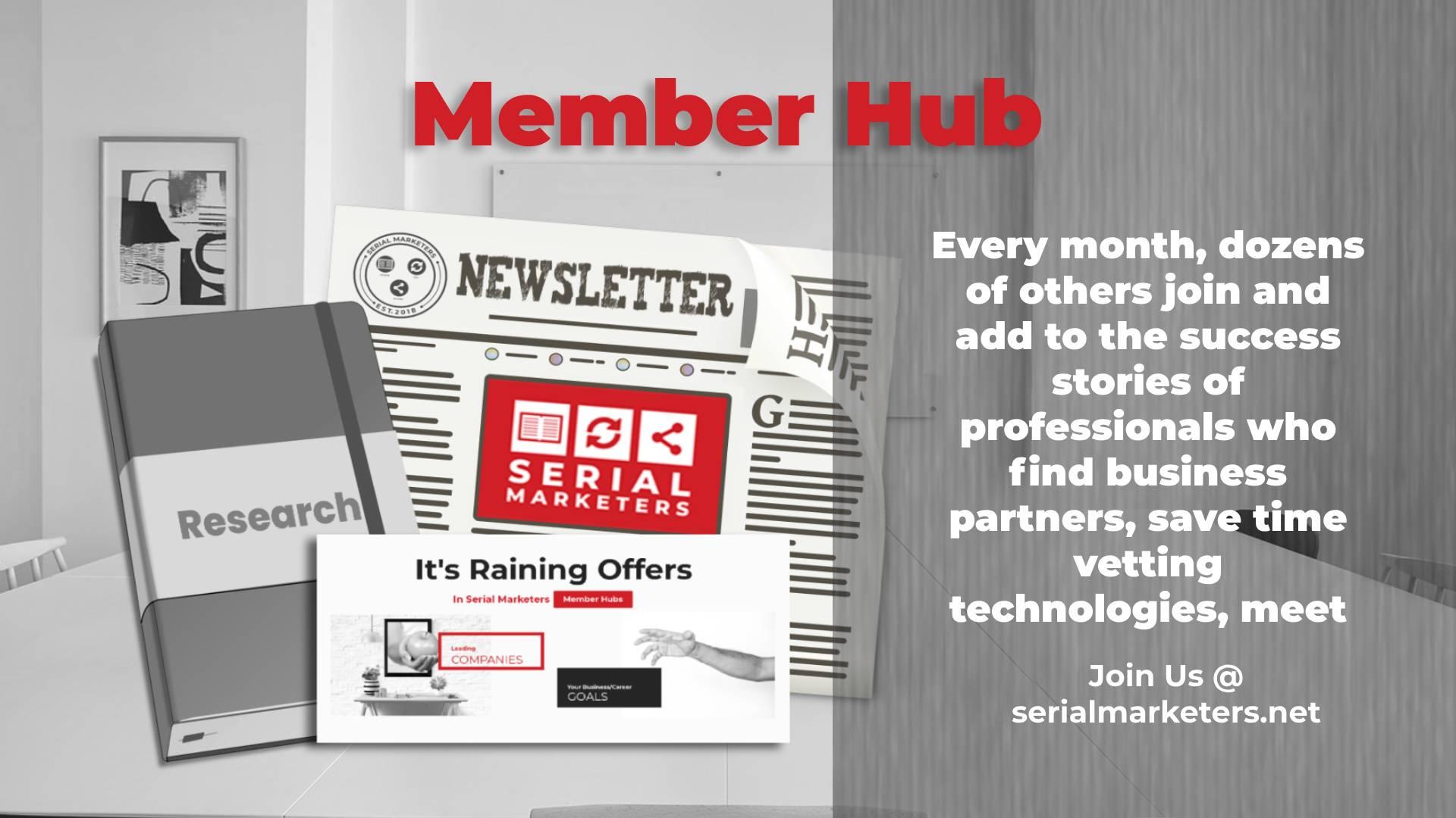 Member Hub Banner